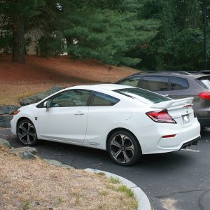 My previous 2015 Civic Si Coupe, which I traded in for my current 2017 Si Coupe.