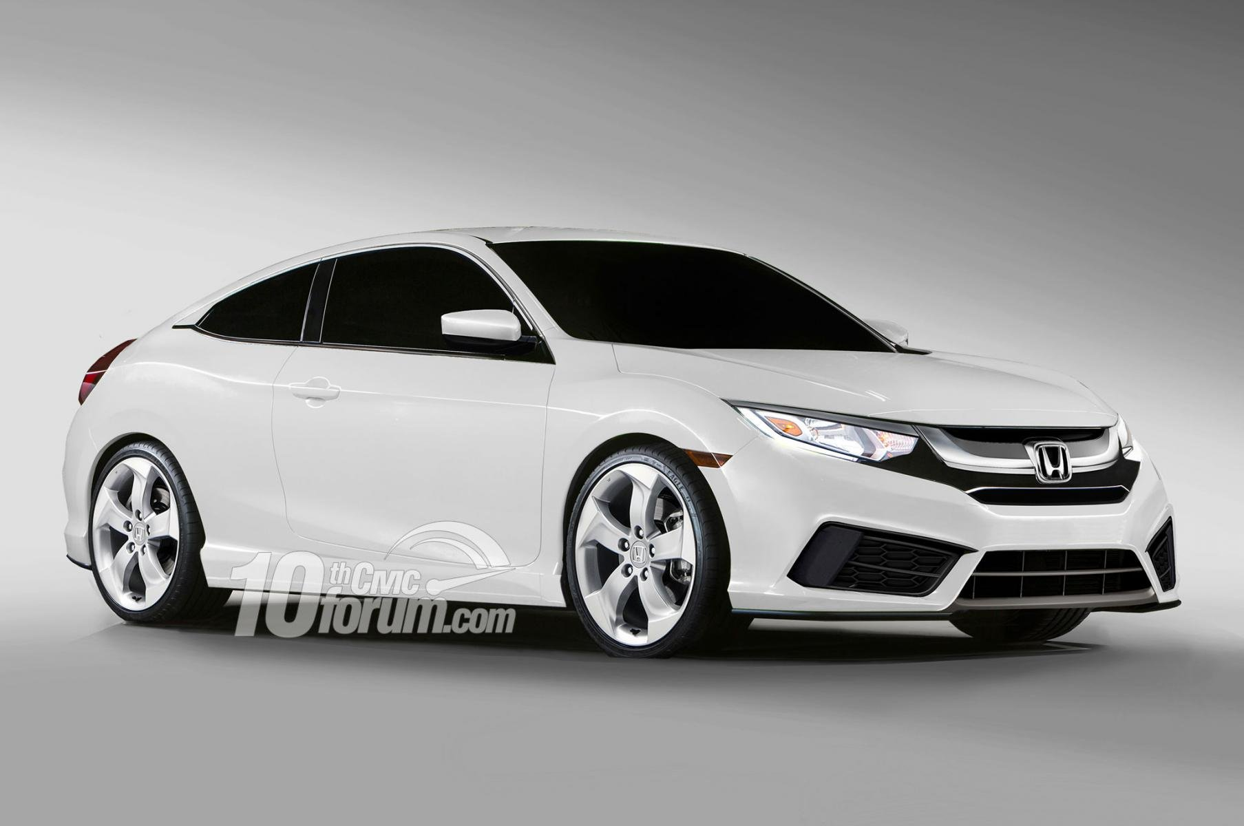 2016 honda civic sedan coupe hatchback renders leaked 10th gen civic forum. Black Bedroom Furniture Sets. Home Design Ideas