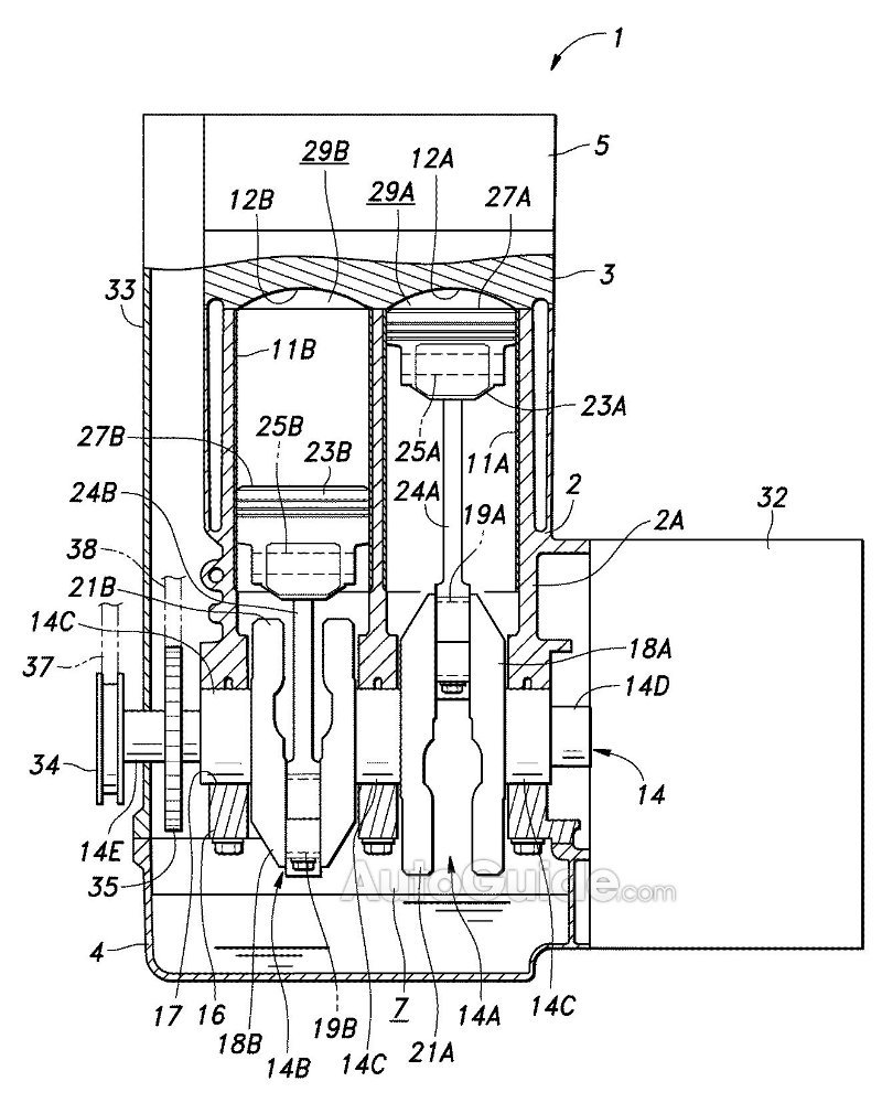 Honda filed a patent for an innovative engine back in March of 2014 and it  was finally published this January on Japan's Patent Office website but, ...